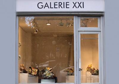 Galerie XXI - Façade