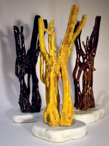 Partition-végétale,-Variation-Bonga,-10x10x33,-2015,-Céram-blanche-et-marbre